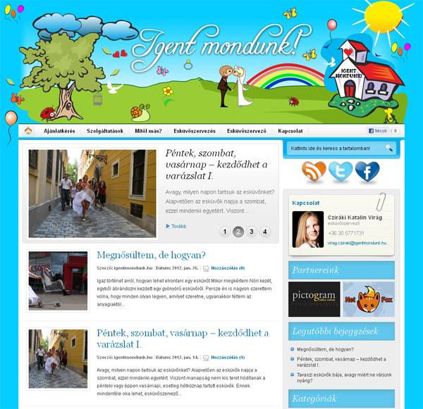 NetFox.hu - Elkészítettük az igentmondunk.hu honlapját.