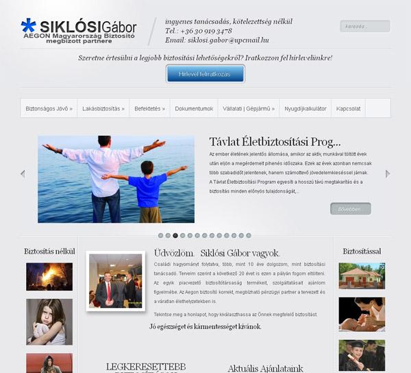 Átvettük a siklosibiztositas.hu fejlesztését